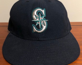 f4703a2c3306a Seattle Mariners New Era Fitted Hat Size 7 1 8