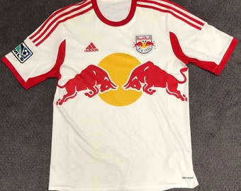 3524cd0721c New York Red Bulls MLS Adidas Jersey Mens Large