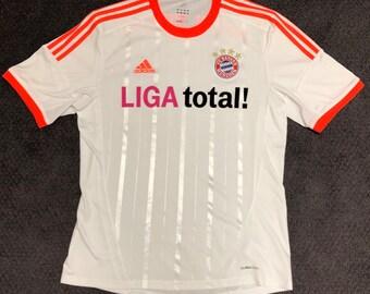 5cec871a6b9 FC Bayern Munchen Adidas Climacool Jersey Mens Large