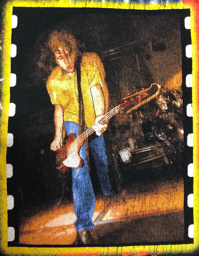 1997 Nirvana Live Graphic Tshirt Rare Mens Medium