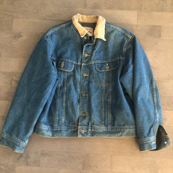 90s Lee Storm Rider Denim Jacket Size 46