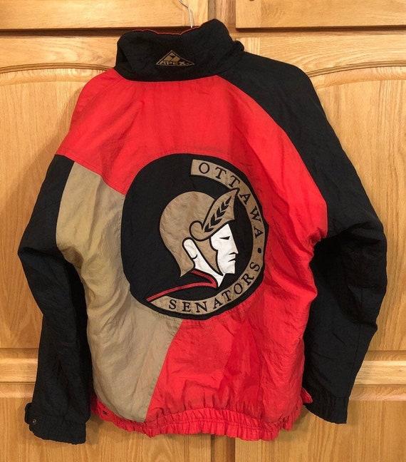 90s Ottawa Senators NHL Jacket by Apex One Men's S
