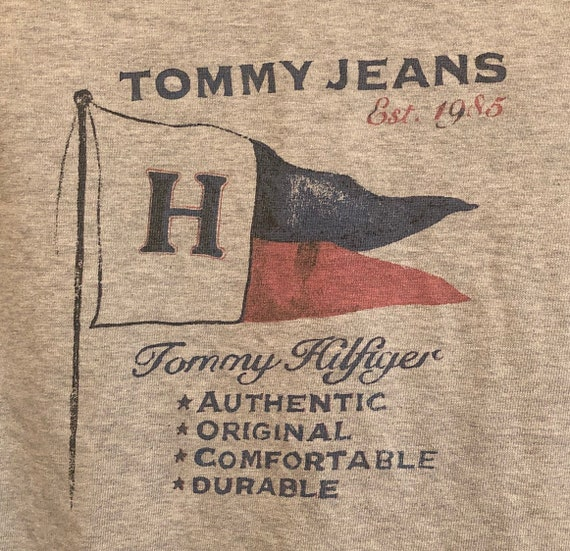 Vintage Tommy Hilfiger Denim Button Up Shirt Men's