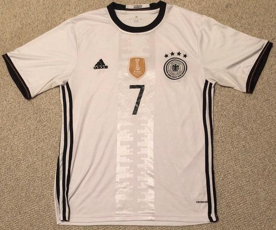2014 Schweinsteiger Adidas Deutscher Fussball Bund Jersey Mens Medium