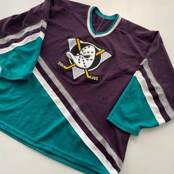 Vintage 90s Mighty Ducks CCM Hockey Jersey