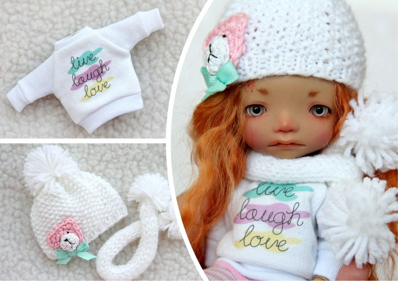 Outfit for a doll BJD Lati Yellow//Pukifee//IrrealDoll//Nikki Britt//Darack doll
