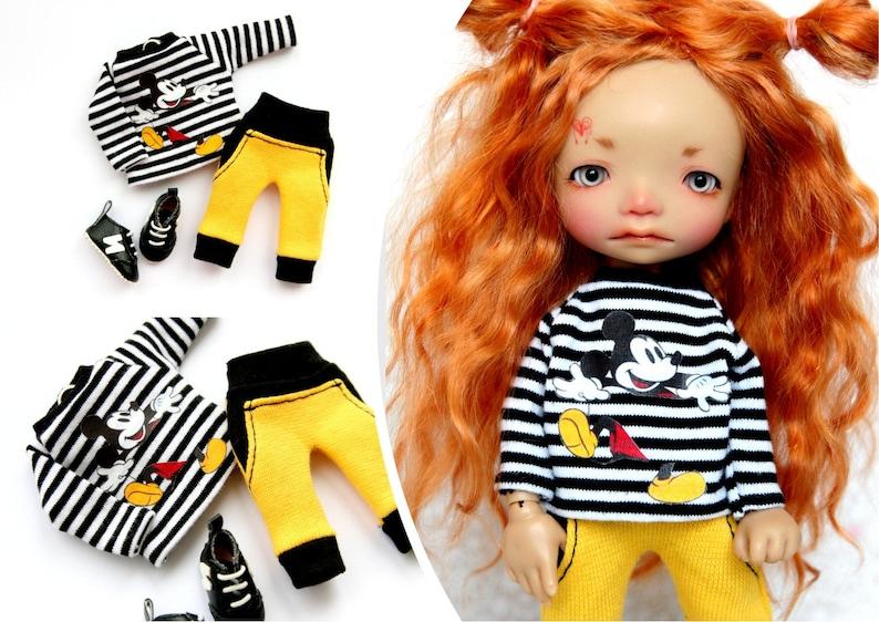 Pants for a doll BJD Lati Yellow//Pukifee//IrrealDoll//Nikki Britt//Darack doll