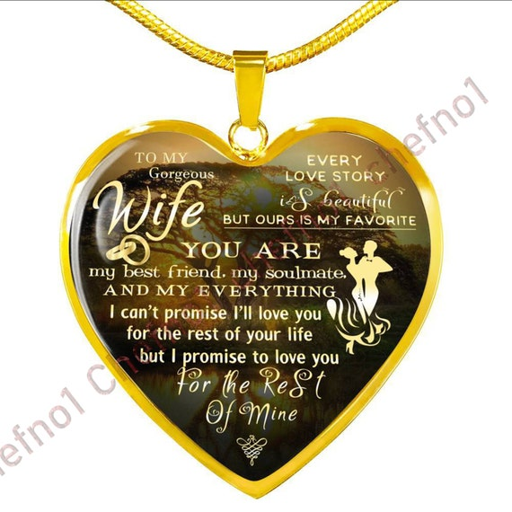 Husband And Wife Necklace Luxury For Valentine