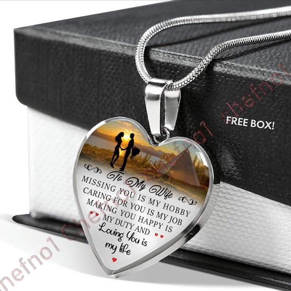Birthday Gift For WifeLuxury Necklace Wife From HusbandValentine WifeSpecial 295whs