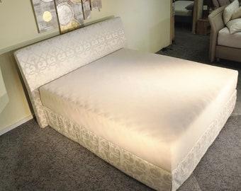 SCHUMM Design Boxspring Royal Bett Mit Venezia Kopfteil