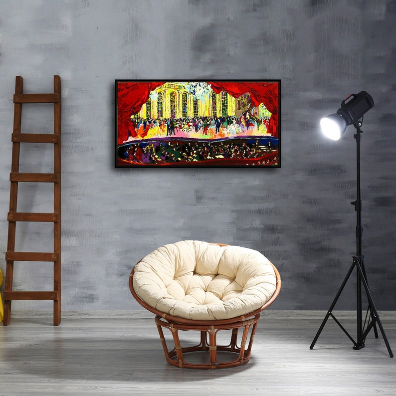 HD Print LeRoy Neiman Willie Stargell Home Art Decor Painting on Canvas 24x36