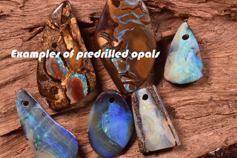 Boulder Opal 24.05cts 28mm x 15mm