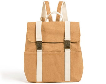 Washable Paper Backpack - Vegan Backpack Women 2ae1ab44ad4d5