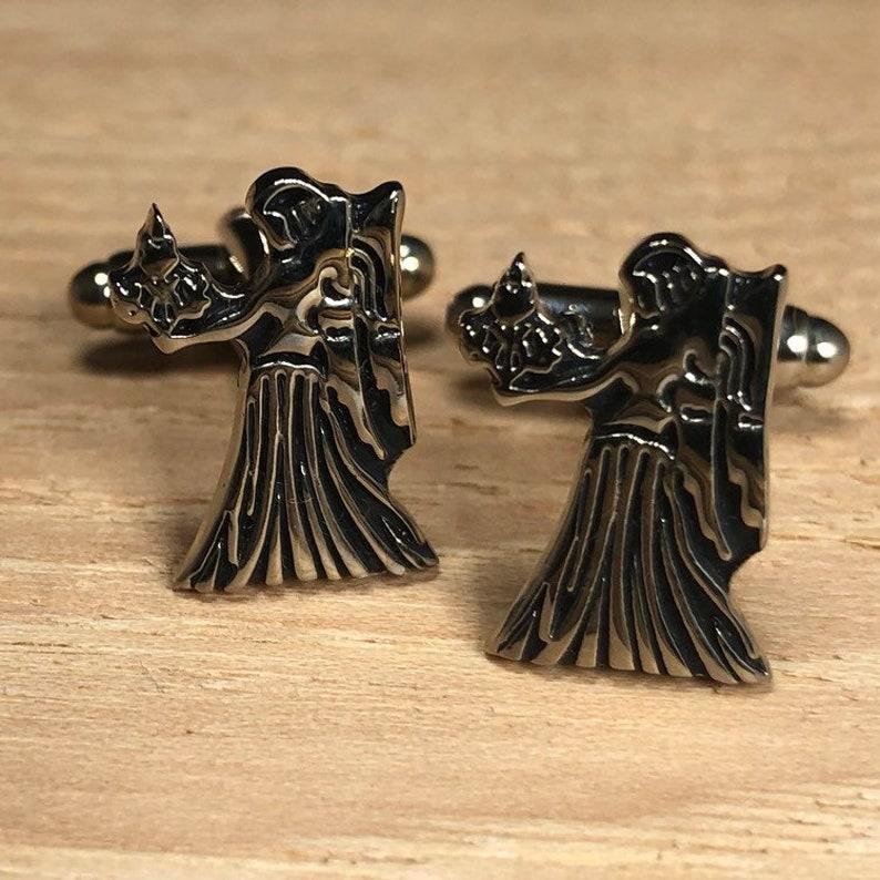 Virgo Cufflinks  Zodiac Jewelry  Zodiac Constellation  Zodaic Sign  Maiden Zodiac
