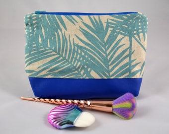 Palm trees Blue
