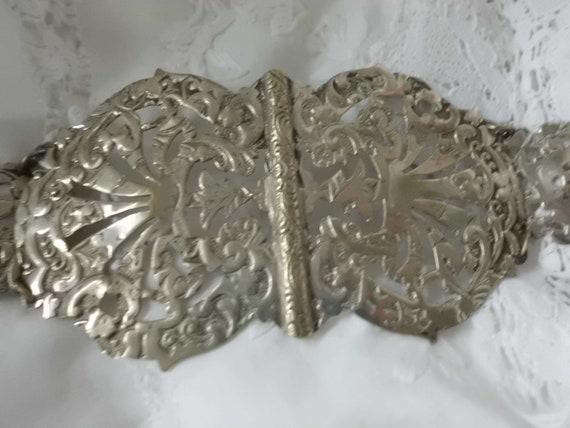 Silver-plated Nurse Belt epns England silver belt