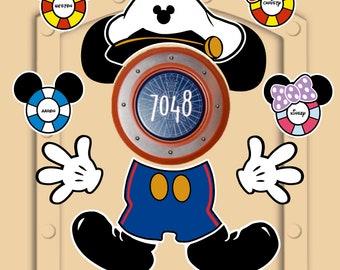 Disney Cruise Magnet Etsy