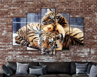 9c6f0a9f710b3 Tiger wall art