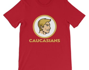 Washington Caucasians Short-Sleeve Unisex T-Shirt 4579b93d7