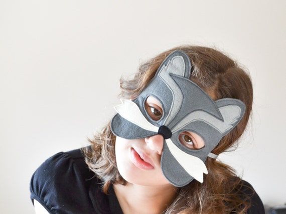 Wolf Mask Kids Felt Mask Wolf Costume Accessory Woodland Animal Photo Props Soft Toy For Boys And Girls