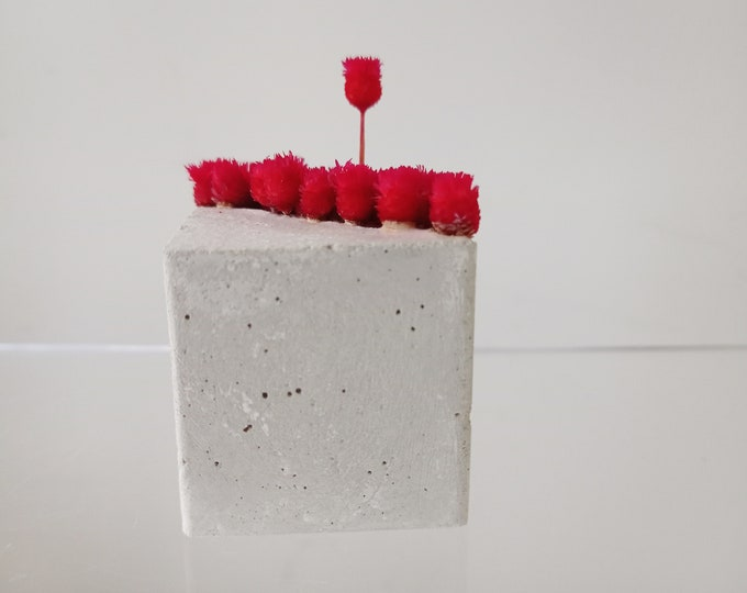 Mini pavé fleuri