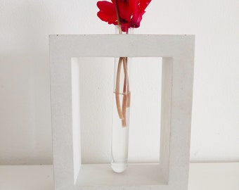 Arch - Contemporary Vase, soliflore glass tube