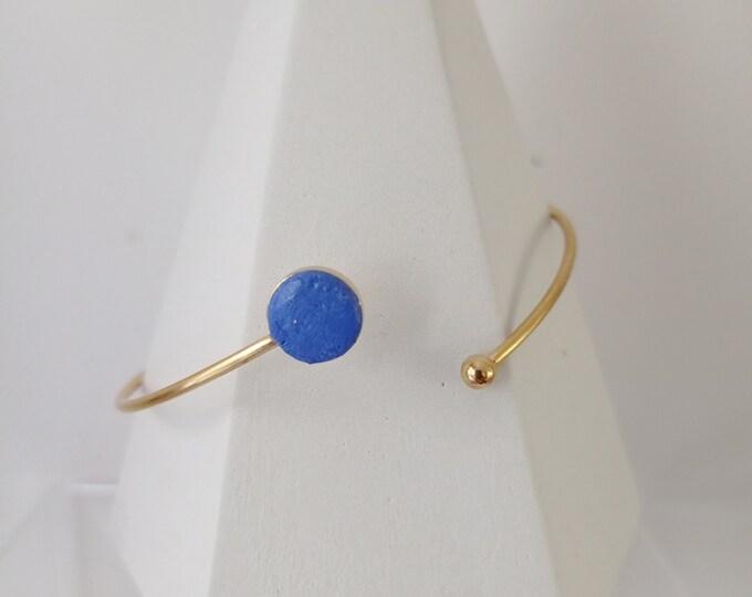 Blue rush bracelet