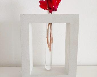 Arch - Contemporary vase, soliflore glass tube