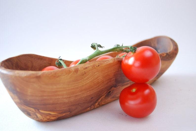 Olive Wood Salad Bowl  ** WOOD UNIQUE**  30cm