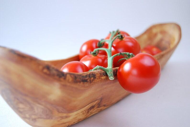 Olive Wood Salad Bowl   WOOD UNIQUE  45cm image 0