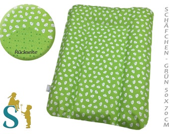 Cover for wrapping pad 50 x 70-sheep-green