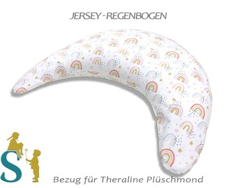 Cover for plush moon-jersey-rainbow