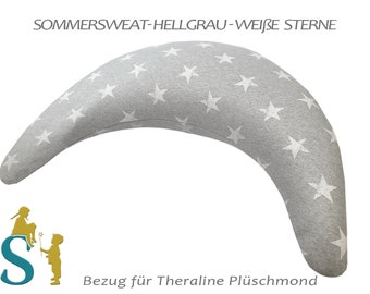 Reference for plush moon ~ summer sweat-light gray white stars ~