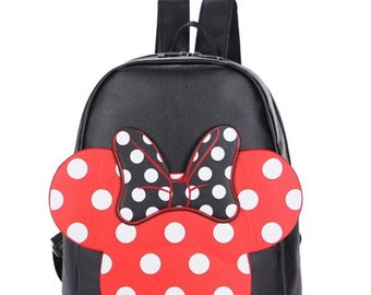 584c39c434db Girls Minnie Mouse backpack