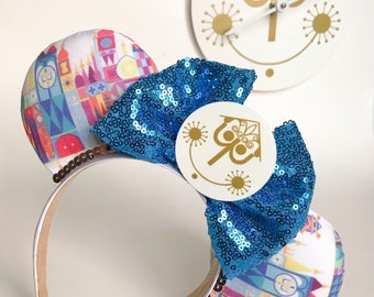 It's A Small World Ride Inspired / Small World Disney Inspired / Mickey / Minnie Ears