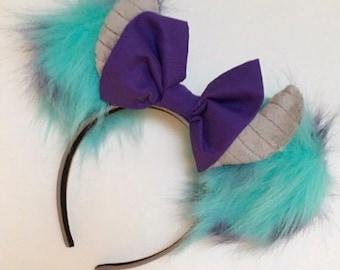 Sulley Monsters, Inc. Inspired Mickey / Disney Ears / James P. Sullivan Ears