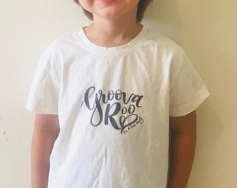 100% Organic Cotton Off-White Infant/Toddler T-Shirt