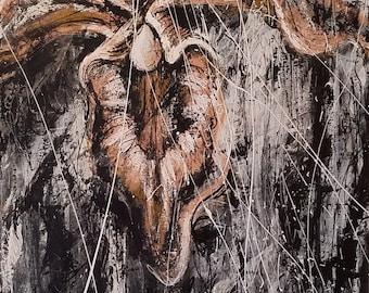 Emerge-Original Painting 250.00