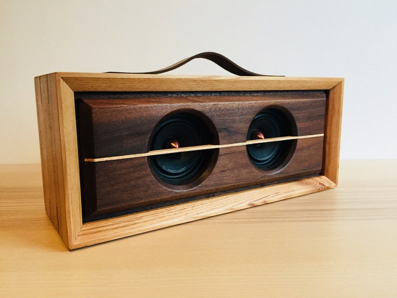 Hand made bluetooth speaker
