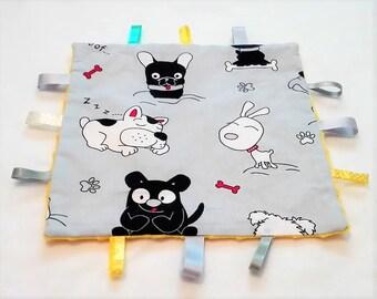 Knister cloth, cuddly cloth, towel cloth