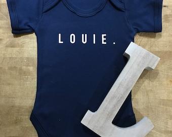 Personalised baby bodysuit   personalised baby vest   custom baby vest   custom  baby bodysuits   baby shower gift   newborn baby gift   gift b3e1c71e3