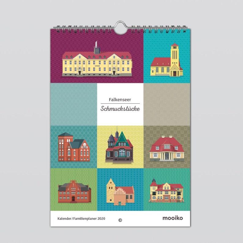 Calendar / Family Planner 2020 Falkenseer Trinkets image 0
