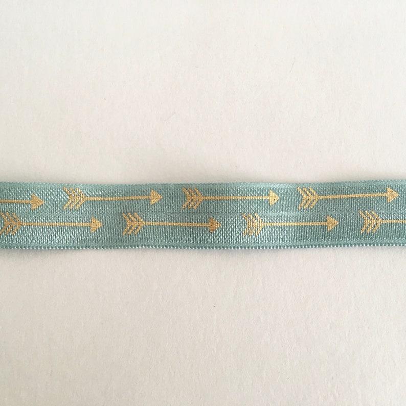 1m DIY rubber band rubber band rubber band Hairline Hargummis golden Arrow seablue