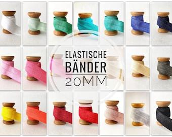 20 mm x 1 meter folding rubber rubber band elastic band uni edp band beplotten beplotten tape bracelet20mm