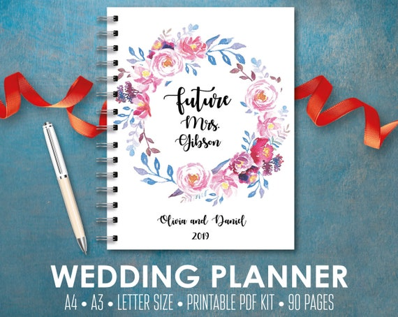 ultimate wedding planner wedding planner printable wedding etsy