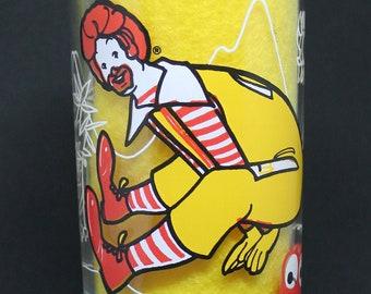 Vintage Ronald McDonald Glass