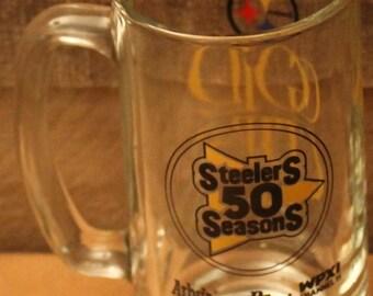 Vintage Steelers 50 Seasons Mug