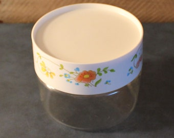 Vintage Pyrex Wildflower Canister