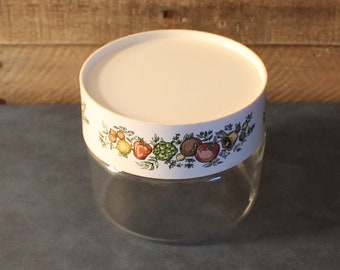 Vintage Pyrex Spice of Life Canister
