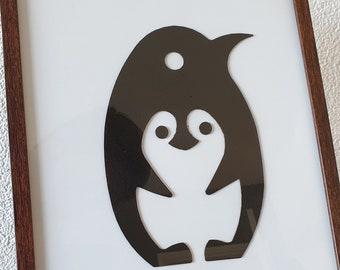 Penguin Doodle Etsy